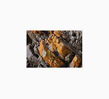 Orange Lichen on Rocks, Tasmania, Australia Unisex T-Shirt