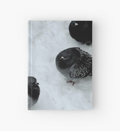 The pigeons are not fat Hardcover Journal