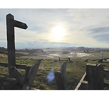 View to Lesbury, Alnmouth Photographic Print