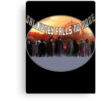 Gallifrey Falls No More Canvas Print