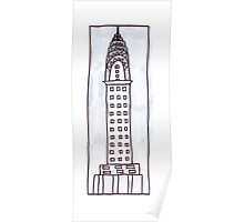 Chrysler Building, NYC Poster