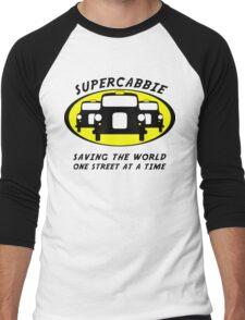 Supercabbie Men's Baseball ¾ T-Shirt