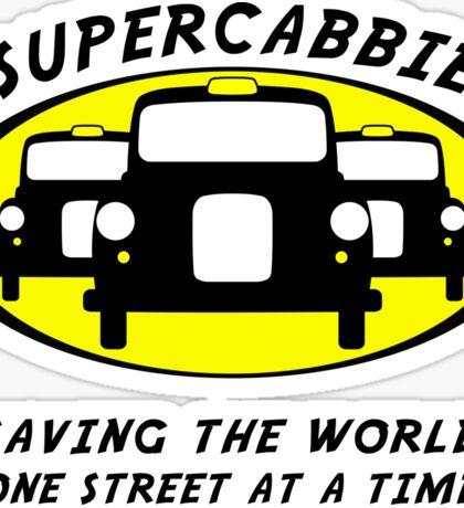 Supercabbie Sticker