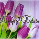 Happy Easter Tulips by ©The Creative  Minds