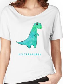 Sistersaurus Women's Relaxed Fit T-Shirt