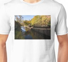 Slow Walk on the Towpath - a Fine Fall Day at the Chesapeake and Ohio Canal in Georgetown, Washington, DC Unisex T-Shirt