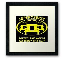 Supercabbie Framed Print