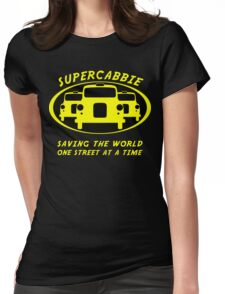 Supercabbie Womens Fitted T-Shirt