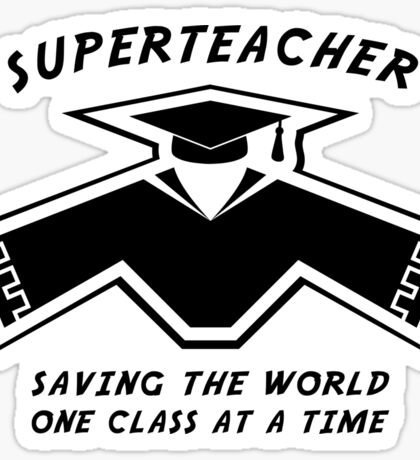 Superteacher Sticker