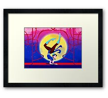 Chun Li from Street Fighter Framed Print