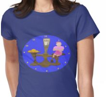 Worth Weight In Gold Womens Fitted T-Shirt