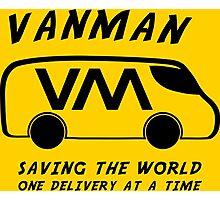 Vanman Photographic Print