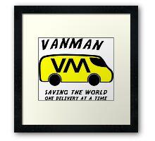 Vanman Framed Print