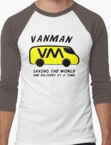 Vanman Men's Baseball ¾ T-Shirt