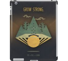 Grow Strong iPad Case/Skin