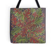 Oak leaves - Tataro pattern Tote Bag