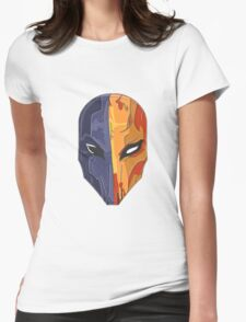 Merc Head illustration Womens Fitted T-Shirt