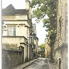 Old street in Oxford, England by flashcompact