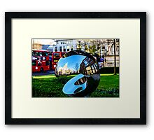 St Paul's Cathedral on Reflection Framed Print