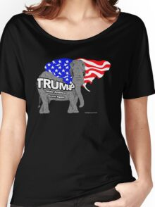 Trump Elephant Women's Relaxed Fit T-Shirt