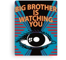George Orwell's Totalitarian Nightmare not the dreadful TV show Canvas Print