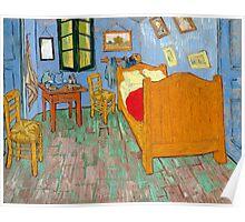1889-Vincent van Gogh-The bedroom-73,6x92,3 Poster