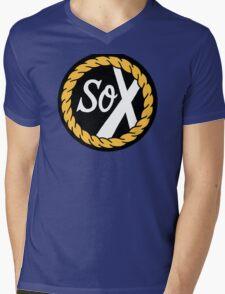 SoX - Chance The Rapper & The Social Experiment LARGE LOGO Mens V-Neck T-Shirt