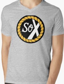 SoX - Chance The Rapper & The Social Experiment LARGE LOGO Mens V-Neck T-Shirt