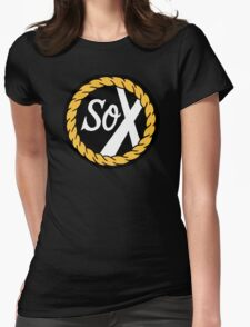 SoX - Chance The Rapper & The Social Experiment LARGE LOGO Womens Fitted T-Shirt