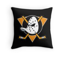 Anaheim Mighty Ducks Throw Pillow