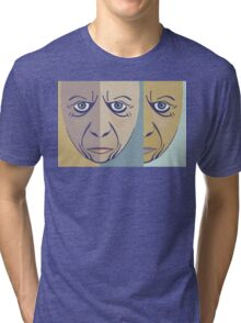 FACES #3 Tri-blend T-Shirt
