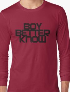 Boy Better Know | 2016 Long Sleeve T-Shirt