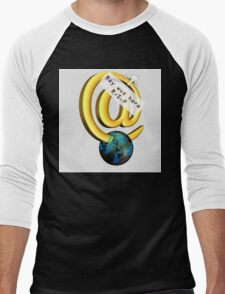 Ray Tomlinson Salute Men's Baseball ¾ T-Shirt
