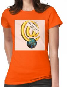 Ray Tomlinson Salute Womens Fitted T-Shirt