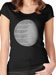 Little Drop of Poison - Lyrics Women's Fitted Scoop T-Shirt