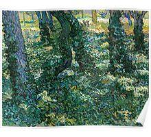 1889-Vincent van Gogh-Undergrowth-73x92,5 Poster