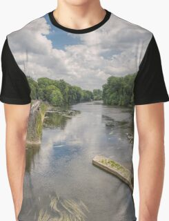 River Cher, Chenonceau, Brittany, France Graphic T-Shirt