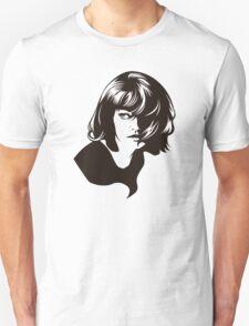 Pinup Hair 60s Retro Girl LZ Unisex T-Shirt