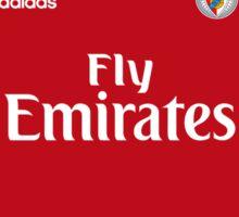 Benfica Home Shirt 2015/2016 Sticker