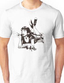 Pulp Movie Illustration Unisex T-Shirt