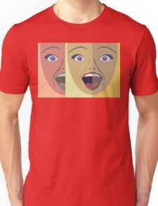 FACES #4 Unisex T-Shirt