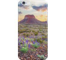 Sunrise at the Big Bend 5 iPhone Case/Skin