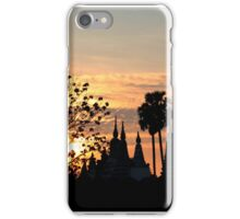 Sunset in Kampong Cham iPhone Case/Skin