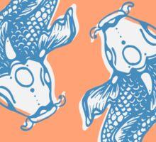 Koi twins Sticker