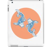 Koi twins iPad Case/Skin
