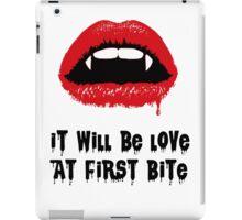 Love at first bite iPad Case/Skin