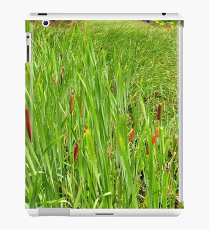 Cattails by the Lake iPad Case/Skin
