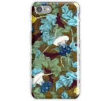 Colorful Vintage Dandelions Abstract iPhone Case/Skin