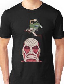 Levi Killing the Colossal Titan Unisex T-Shirt
