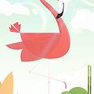flamingo by Berker Sirman